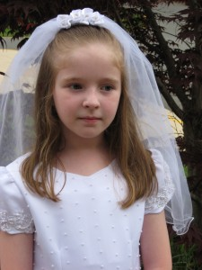 Teresa, age 9, 1st Holy Communion Day
